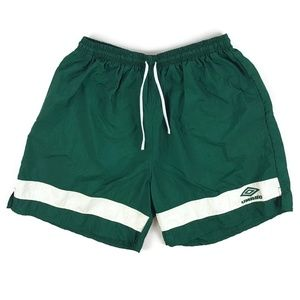 Vintage 90s Umbro Striped Drawstring Shorts